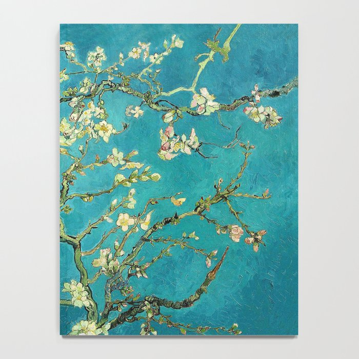 Vincent Van Gogh Blossoming Almond Tree Notebook
