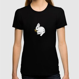 Some'bunny' Loves You (Single Bunny/White) T-shirt