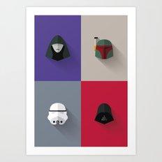 SW The Bad Guys - Minimalist Poster Art Print