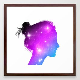 Star Sister / Color 1 Framed Art Print