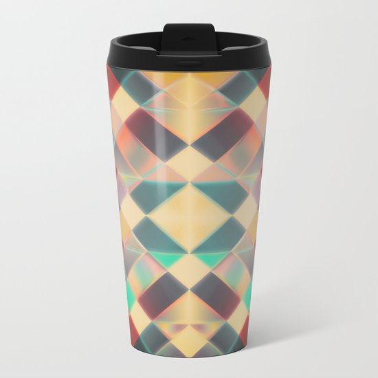 Candy Miracle Tile Metal Travel Mug