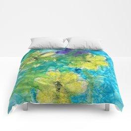 Butterfly Garden Comforters