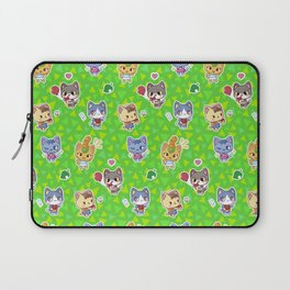 Animal Crossing New Leaf Cats Laptop Sleeve