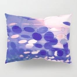GLAM CIRCLES #Soft Pink/Blue #1 Pillow Sham