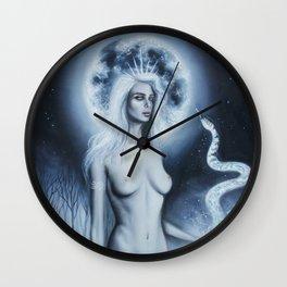 Moon Goddess Wall Clock