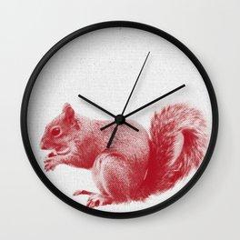Squirrel 01 Wall Clock