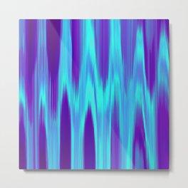 Electric Radio Waves Metal Print