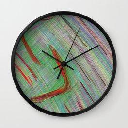 the year/ das Jahr Wall Clock