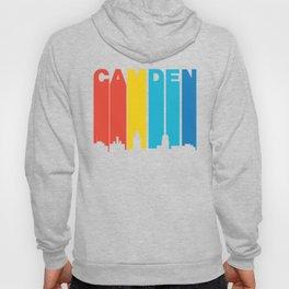 Retro 1970's Style Camden New Jersey Skyline Hoody