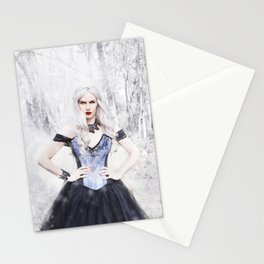 Winter Witch Stationery Cards