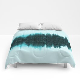 Cloudy Forest Comforters