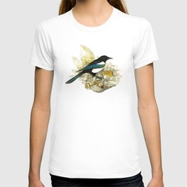 Magpie and Rutilated Quartz T-shirt