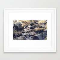 rocky Framed Art Prints featuring Rocky  by Justin Clayton Photography