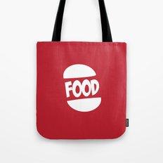 FOOD logo fun generic food logo Tote Bag