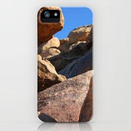Climbing Rockfalls iPhone Case