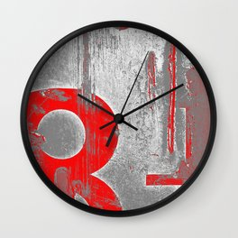 leave it to the numbers Wall Clock