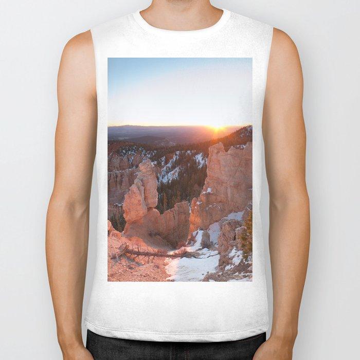Bryce Canyon Sunrise Biker Tank