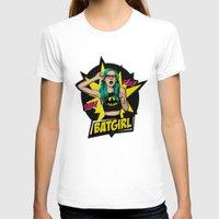 batgirl T-shirts featuring Batgirl by viviennart