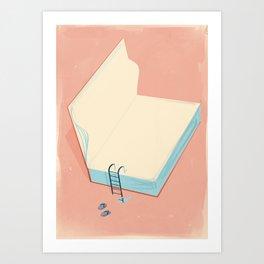 Invite to reading Art Print