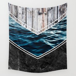 Striped Materials of Nature IV Wall Tapestry