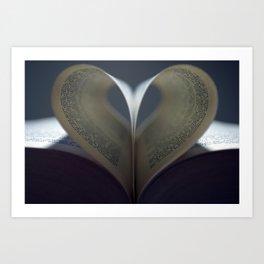 Moody Love Art Print