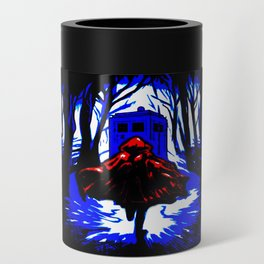 Shadow Light Of Tardis Can Cooler