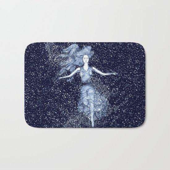 Starlight Swimmer Bath Mat