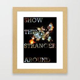 This Stranger Framed Art Print