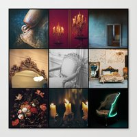 voyage Canvas Prints featuring VOYAGE by lucborell