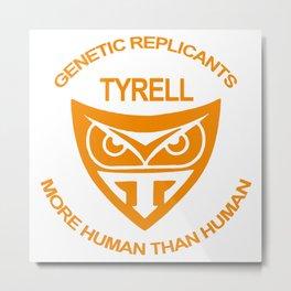 Tyrel Corporation Blade runner Metal Print