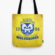 WOLVERINES! (YELLOW VARIANT) Tote Bag