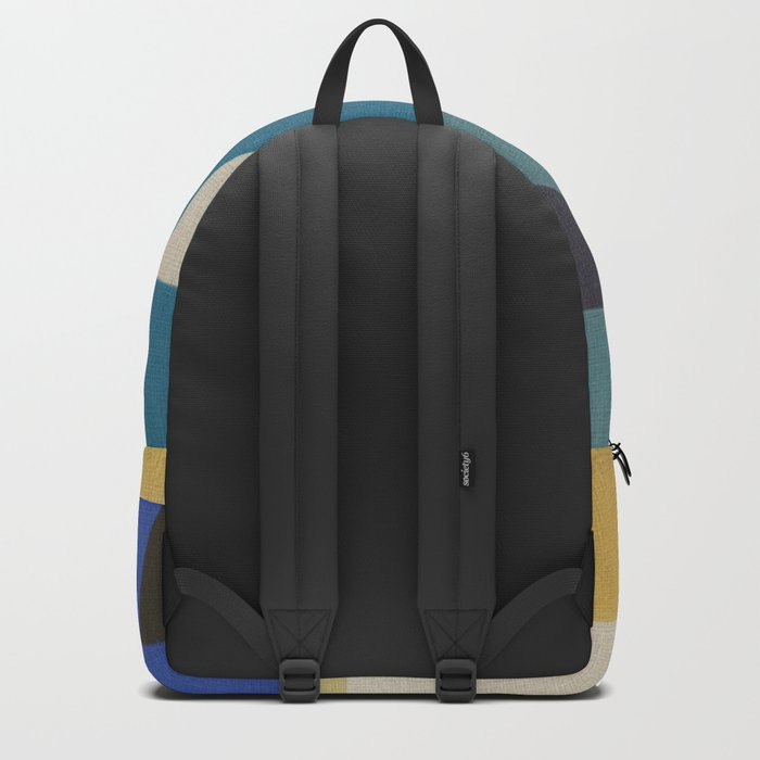An Inquisitive Face Backpack