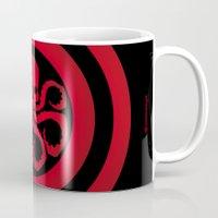hydra Mugs featuring Hail Hydra #1 by Alberto Lamote de Grignon