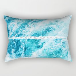 undreamed shores Rectangular Pillow