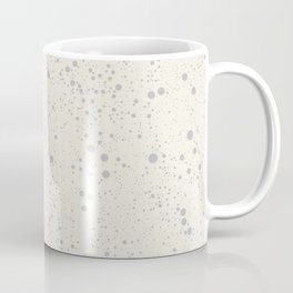 Chaotic circles pattern. Cream. Coffee Mug