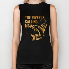 The river is calling me Biker Tank