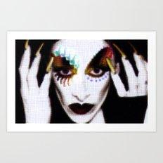 DIAMANDA Art Print