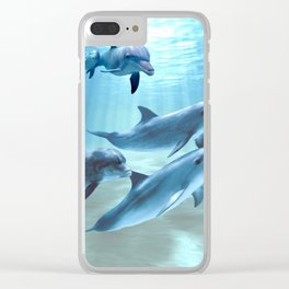 The Pod Clear iPhone Case