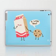 Cookie Loves Milk Laptop & iPad Skin