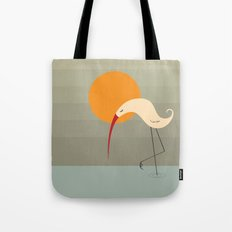 Bird and Sun Tote Bag