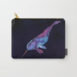 Starwhal Watercolor Painting by Imaginarium Creative Studios Carry-All Pouch