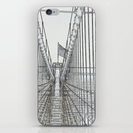 Brooklyn Bridge Cables Abstract iPhone Skin