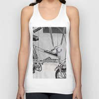 70s Tank Tops featuring 70s Iconic Bike Uk by Paul & Fe Photography