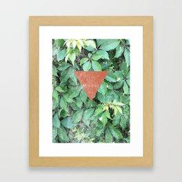 V. Framed Art Print