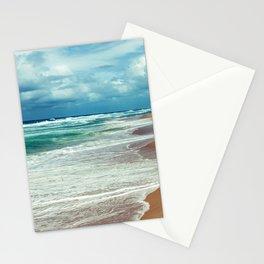 Emerald Ocean, Sapphire Sky, Alabaster Surf Stationery Cards