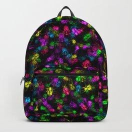 Glowing spiders Backpack