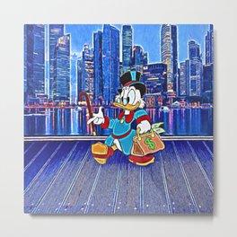 Scrooge McDuck Metal Print