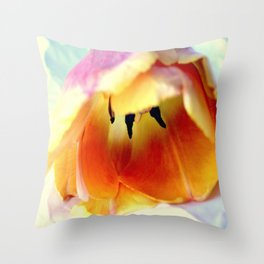 Prone To Love This Tulip Throw Pillow