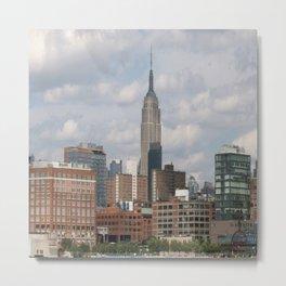NY city view Metal Print