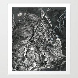 Inktober 2017: Spider Art Print